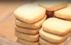 GALLETAS SUAVES, (Sólo tres ingredientes) 250 g de harina, 170 g de…