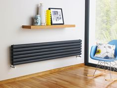 Add a modern touch to your home with a stunning horizontal radiator from just £99.95