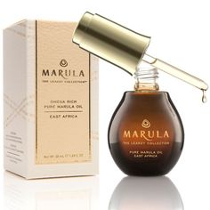 The beauty benefits of facial oils: Marula Oil contains percent Omega 9 fatty acid—meaning the skin absorbs it quickly and there's never a greasy after feel. Great to moisturize dry nail to prevent peeling Facial Oil, Facial Skin Care, Natural Skin Care, Au Natural, Natural Glow, Natural Living, Natural Oils, Natural Health, Natural Hair