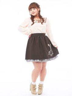 Japanese kawaii plus size fashionLink