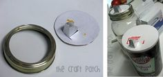 reuse food containers crafts | MAKE | Reuse a Salt Container as a Pour-spout Jar Lid