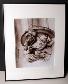 Biltmore Painter Gargoyle by EnchantedStudios on Etsy, $75.00