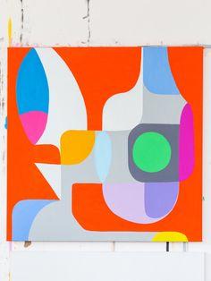 The Design Files - Dec Extraordinary Routines - Stephen Ormandy… The Design Files, Elements Of Art, Geometric Art, Art Sketchbook, Painting & Drawing, Pop Art, Art Projects, Contemporary Art, Street Art