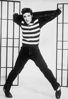 Elvis Presley is one of my favorite celebrities! Got love a man you could sing and dance :)
