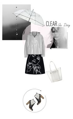 """Clear as day"" by rheeee ❤ liked on Polyvore featuring Oui, STELLA McCARTNEY, Fulton, BCBGMAXAZRIA, MM6 Maison Margiela and T By Alexander Wang"