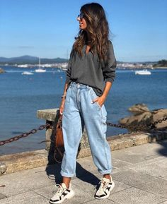 33 Fall Fashion Outfits Ideas For You In 2019 - Septor Planet Casual Fall Outfits, Winter Fashion Outfits, Look Fashion, Chic Outfits, Trendy Outfits, Autumn Fashion, Fashion Clothes, Fashion Dresses, Slouchy Outfit