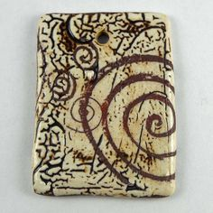 Spirals pendant, via Flickr.