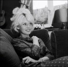 Brigitte Bardot hair up