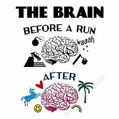 Brain before and after the run. Mehr – Tap the pin if you love super heroes too!… Brain before and after the run. Mehr – Tap the pin if you love super heroes too! Cause guess what? you will LOVE these super hero fitness shirts! Fitness Workouts, Fitness Motivation, Running Motivation, Running Workouts, Running Tips, Daily Motivation, Funny Fitness, Fitness Humor, Fitness Shirts
