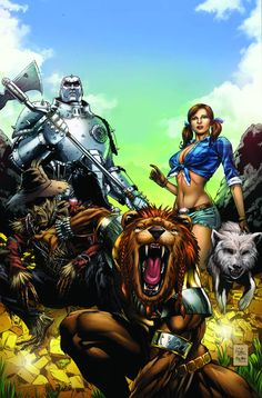 Grimm Fairy Tales Presents: Oz #2 - Anthony Spay Cover (B)