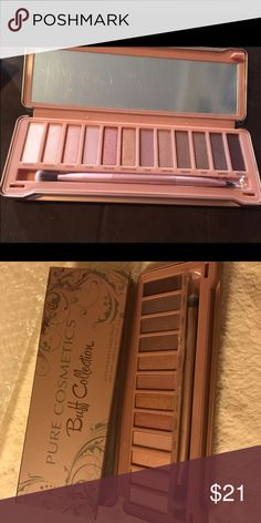 Naked 3 Dupe Got this in my Dec 2016 Boxycharm ($50 value) Looks like a dupe for the Naked 3 palette, which I already own so I don't have a use for it. Hasn't been swatched. pure cosmetics Makeup Eyeshadow