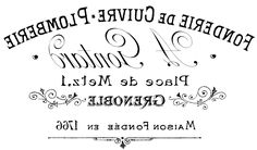 French Typography Transfer  //  The Graphics Fairy - Free reversed-