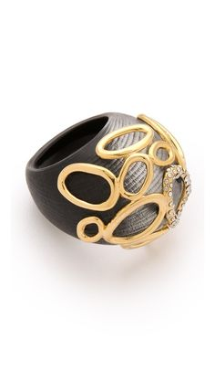 died and went to jewelry heaven, again. Alexis Bittar Modular Dome Ring