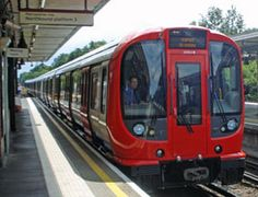 The latest air-conditioned trains now running on the Metropolitan line.