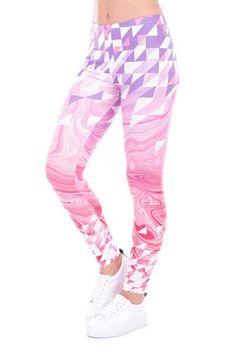 Pink Marble - Leggings