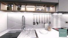 Reforma de Cocina propuesta para Mariana de Moreno Bathtub, Bathroom, Mariana, Kitchen Design, Kitchens, Studio Apartment Design, Proposal, Buenos Aires, Interiors