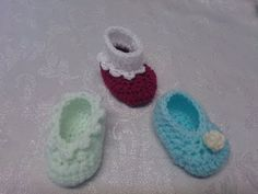 My Easy Crochet Petite Baby Sock in Slipper 3 in 1 (3 inch sole) - YouTube