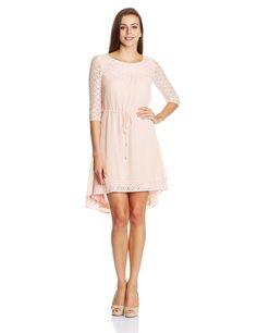 Jealous Club 21 Women's Georgette A-Line Dress