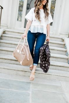 @kbstyled featuring our SS Carry On on her blog