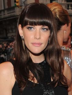 Daytime hair on Liv Tyler at the #MetBall
