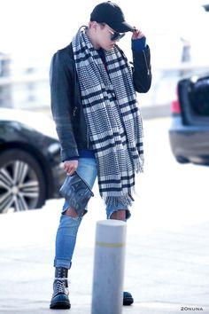 [AIRPORT] 161201: BTS J-Hope (Jung Hoseok) #bangtan #bangtanboys #bts #fashion #kfashion #kstyle #korean #kpop