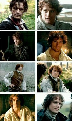 The evolution of Jamie Fraser from Ep1 to 8. #Outlander