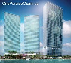 La mejor inversión de #lujo frente al agua en #Miami #Edgewater esta en www.oneparaisomiami.us/es