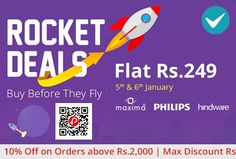 Shopclues #RocketDeals is offering Flat Rs.249 on Lifestyle Products including #big #brands like #Puma, #FOGG, #Eveready and many more.   http://www.paisebachaoindia.com/rocket-deals-starts-flat-rs-249-shopclues/