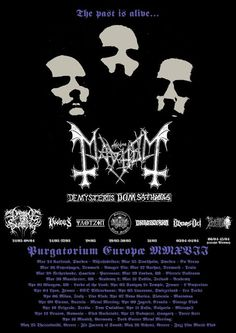 HARD N' HEAVY NEWS: MAYHEM - KICKING OFF NEW EUROPEAN TOUR
