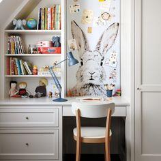 big kids room: Cut-to-Fit Magnetic Wallpaper
