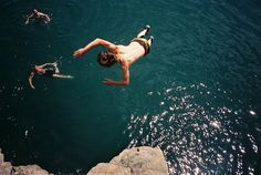 may sound stupid..but i wanna jump off a huge cliff into water :)