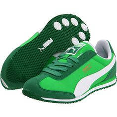 Aidan loves everything green - Puma Kids, Whirlwind