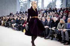 The Burberry Prorsum Womenswear Autumn/Winter 2012 show #LFW