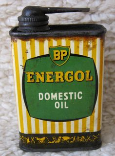 Vintage BP Energol Domestic OIL Handy Oiler TIN CAN 4FL OZ | eBay