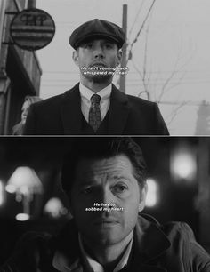 he isn't coming back whispered my head, he has to sobbed my heart #spn #destiel