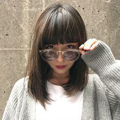 ぱっつん前髪で憧れの芸能人似ヘアスタイル!