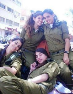 Band of Sisters ? :) Israeli soldier girls 115