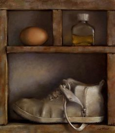 Compartments III - Egg and Bottle. Neil Nelson.