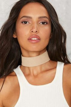 Colby Vegan Suede Choker - What's New