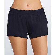 P.J. Salvage Modal Sleep Shorts ($40) ❤ liked on Polyvore featuring intimates, sleepwear, pajamas, short, women, short pjs, modal sleepwear, short pajamas, p j salvage pajamas and p j salvage sleepwear