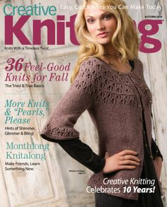 Creative Knitting  Magazine - Buy, Subscribe, Download and Read Creative Knitting on your iPad, iPhone, iPod Touch, Android and on the web only through Magzter