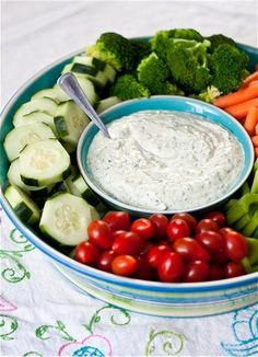Herbed Veggie Dip  8 oz cream cheese, room temperature  1/2 cup sour cream  1/2 cup mayonnaise  3/4 cup chopped scallions (about 3), roughly chopped  1/4 cup flat-leaf parsley, chopped  1 tbsp fresh dill, roughly chopped  1 tsp kosher salt  1/4 tsp black pepper