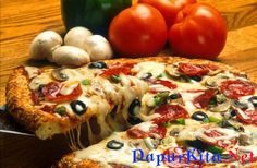 Bahan Membuat Kulit Pizza :tepung terigu (500 gram)ragi instan (5 gram)gula pasir (1 sendok teh)garam (10 gram)air hangat (375 ml)minyak zaitun (50 gram)Cara Membuat Kulit Pizza :Pertama larutkan ragi dan gula dengan menggunakan air h