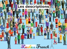 Do you know how to describe someone's physical appearance in #French? #learnfrench #lawlessfrench