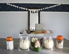 Our house, now a home: Create & Share, Fall tablescape