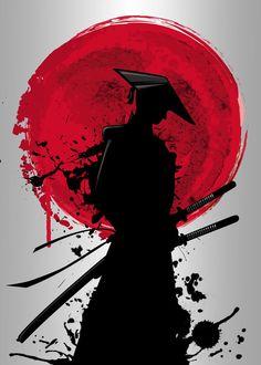 Samurai Drawing, Samurai Artwork, Samurai Tattoo, Demon Tattoo, Japanese Artwork, Japanese Tattoo Art, Japanese Art Samurai, Japanese Dragon, Samurai Wallpaper