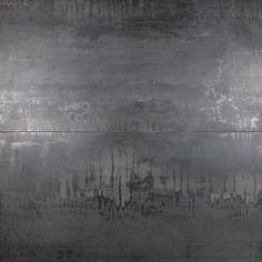 Ivy Hill Tile Metallic Dark Gray 24 in. x 48 in. x Matte Porcelain Floor and Wall Tile pieces / sq. / - The Home Depot Outdoor Flooring, Outdoor Walls, Flooring Ideas, Metallic Wall Tiles, Metallic Paint Walls, Gray Tiles, Angela Harris, Concrete Tiles, Cement