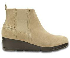 Women's Stretch Sole Wedge Bootie | Women's Boots | Crocs Official Site