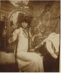 Alphonse Mucha - Model for Documents Décoratifs, Paris, 1900.