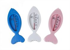 First Steps New Born Baby Floating Bath Thermometer Bath Time Safety Fish Shaped